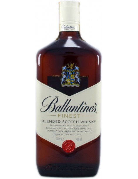 Виски Ballantine's Finest 40% 1,0 л