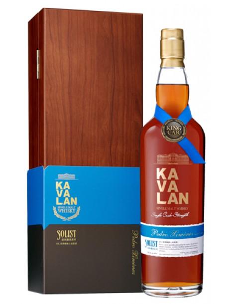 Виски KAVALAN Solist Pedro Ximenez Single Cask Strength 57,1% OF 0,75л