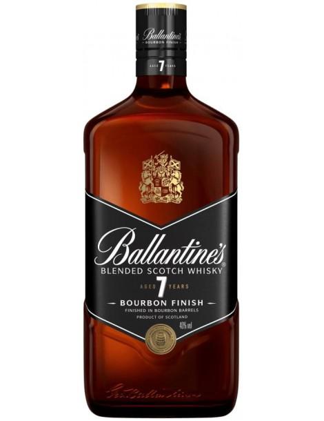 Виски Баллантайнс 7 лет 40% 0,7