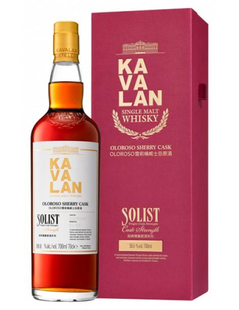 Виски Kavalan Solist Oloroso Sherry Cask Single Cask Strength 58,6% 0,7