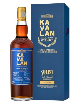 Виски KAVALAN Solist Vinho Barrique Cask Single Cask Strength 57,8% OF 0,7л