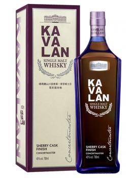 Виски KAVALAN Concertmaster Sherry Finish 40% OF 0,7л