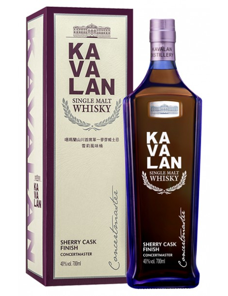 Виски KAVALAN Concertmaster Sherry Finish 40% OF 0,7л