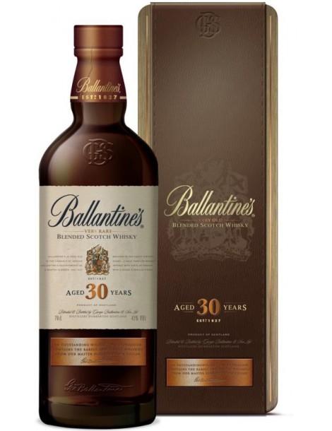 Виски Ballantine's 30 years old 40% 0,7 л, gift box