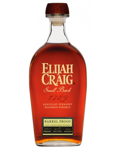 Виски ELIJAH CRAIG Barrel Proof 61,1% OF 0,75л