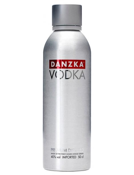 Водка DANZKA Vodka 40% 0.5л