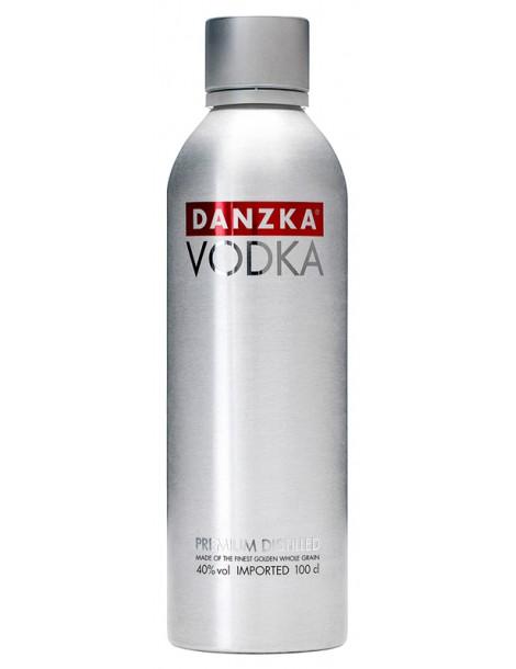Водка DANZKA Vodka 40% 1.0л