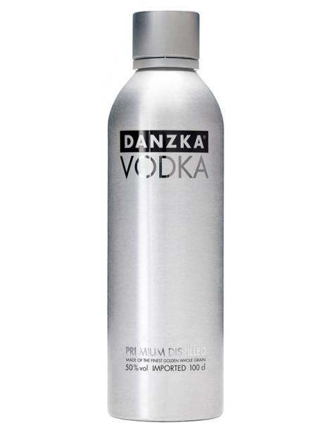 Водка Danzka Fifty 50% 1.0 л