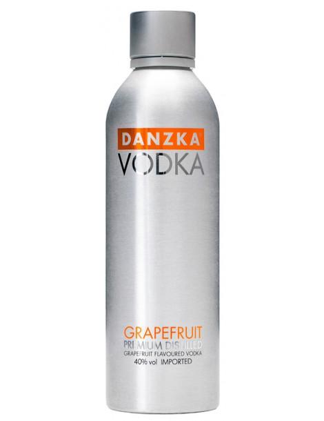 Водка Danzka Grapefruit 40% 1.0 л