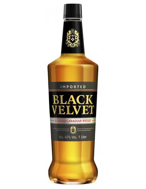 Виски Black Velvet 40% 1,0 л