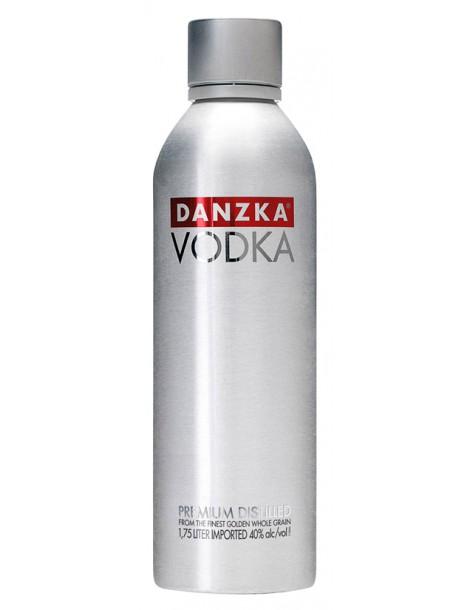 Водка Danzka Vodka 40% 1.75л