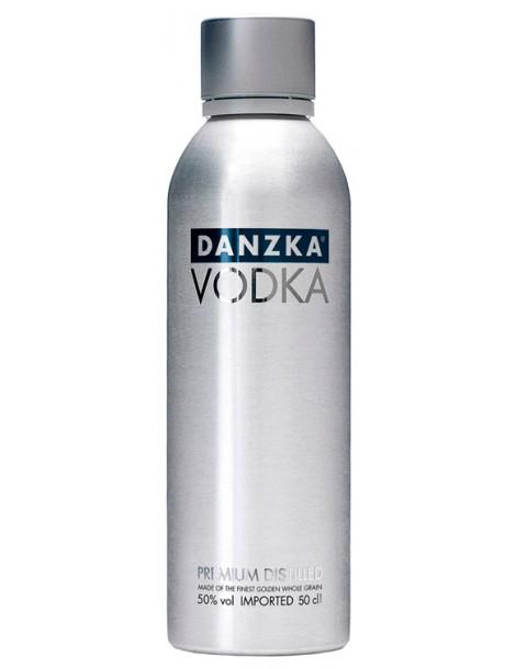 Водка Danzka Fifty 50% 0.5л