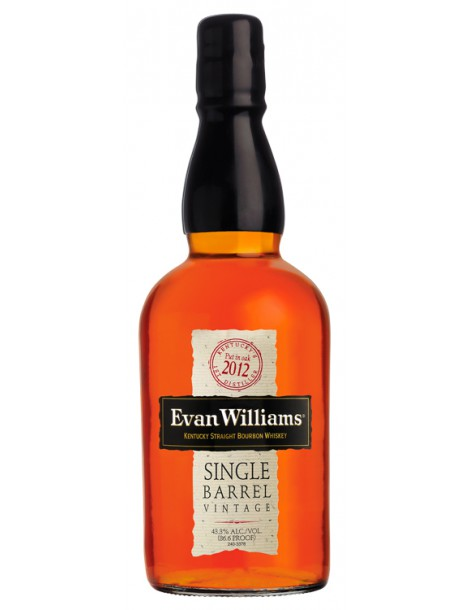 Виски Evan Williams Single Barrel Vintage 2012 43,3% 0,75