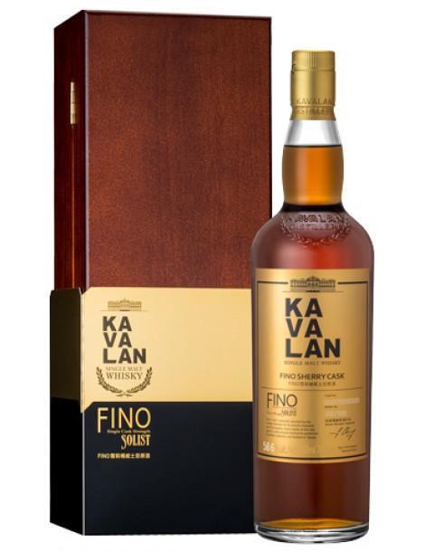 Виски Kavalan Solist Fino Sherry Cask Single Cask Strength 58,6% OF 0,7л