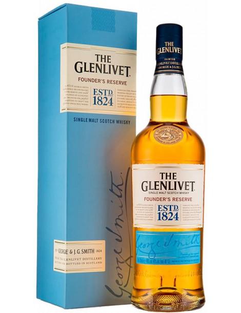 Виски The Glenlivet Founder's Reserve 40% 0,5л