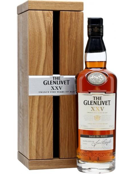 Виски The Glenlivet XXV 43% 0,7л п/у