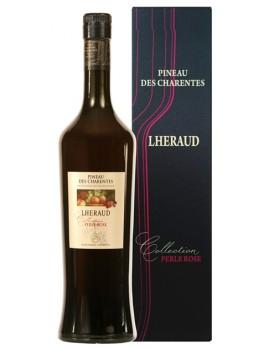Вино ликерное Lheraud Pineau des Charentes Collection Perle Rose 18% 0,75л*