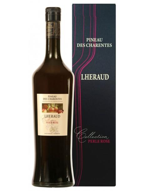 Мистель Lheraud Pineau des Charentes Collection Perle Rose 18% 0,75л