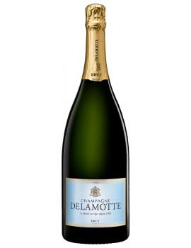 Шампанское Delamotte Brut 12% 3,0л  п/уп (дерево)