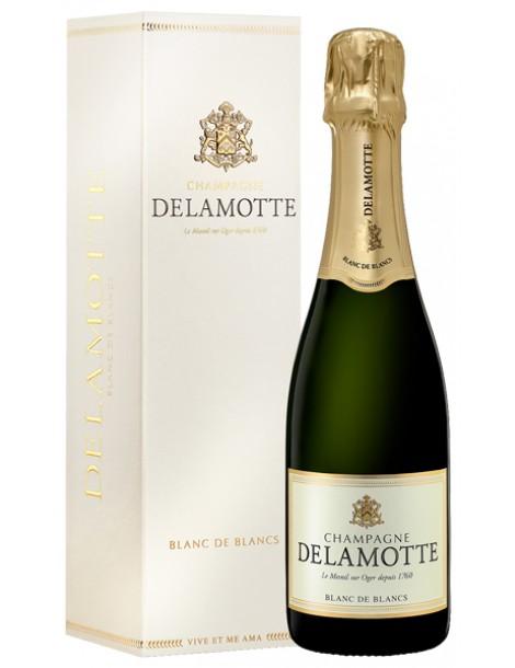 Шампанское Delamotte Blanc de Blancs 12% 0,375л