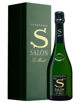 Шампанское Salon Le Mesnil Blanc de Blancs 2007 12% 0,75л п/уп