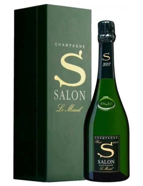 Шампанское Salon Le Mesnil Blanc de Blancs 2007 12% 0,75л