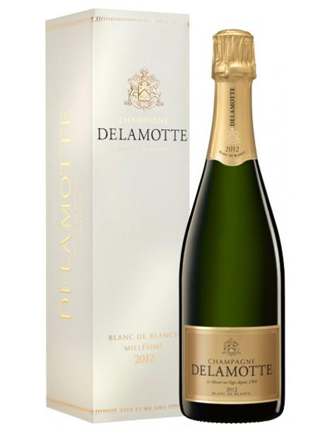 Шампанское Delamotte Blanc de Blancs 2012 12% 0,75л