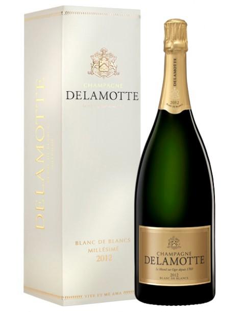 Шампанское Delamotte Blanc de Blancs 2012 12% 1,5л