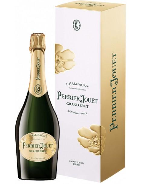 Шампанское Perrier-Jouet Grand Brut, Champagne AOC 12% 0,75, gift box