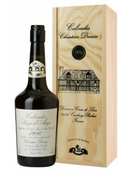 Кальвадос Coeur de Lion Calvados Pays d`Auge 1980 42% 0,7л