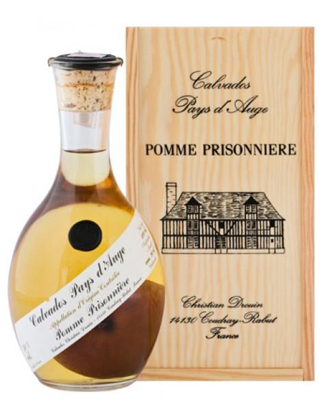 Кальвадос Calvados Pays d'Auge Pomme Prisonniere 40% 1л п/уп (дер)