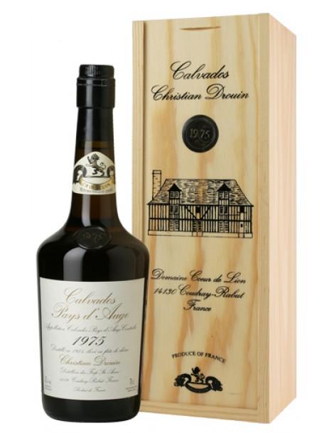 Кальвадос Coeur de Lion Calvados Pays d`Auge 1975 42% 0,7л