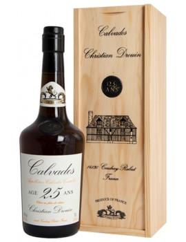 Кальвадос Christian Drouin Calvados 25 ans 40% 0,7л п/уп (дерево)