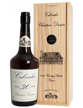 Кальвадос Christian Drouin Calvados 30 ans 40% 0,7л  п/уп (дерево)