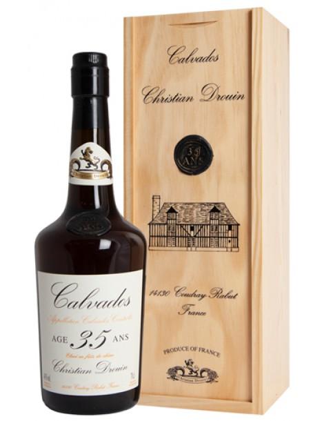 Кальвадос Christian Drouin Calvados 35 ans 40% 0,7л п/уп (дерево)