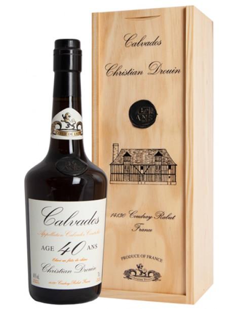 Кальвадос Christian Drouin Calvados 40 ans 40% 0,7л