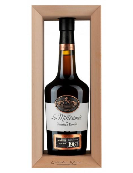 Кальвадос Christian Drouin Calvados 1961 40% 0,7л