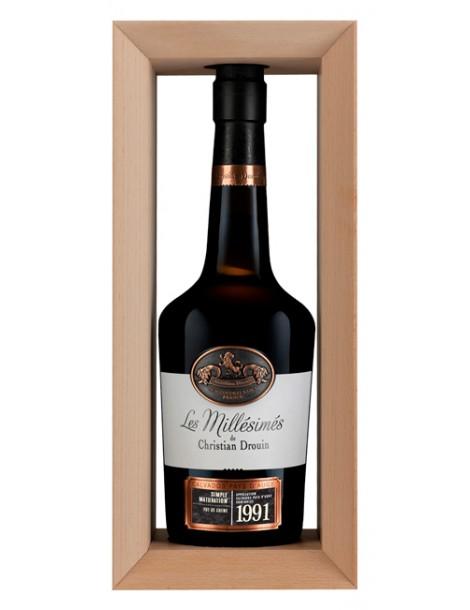 Кальвадос Christian Drouin Calvados Pays d`Auge 1991 42% 0,7л