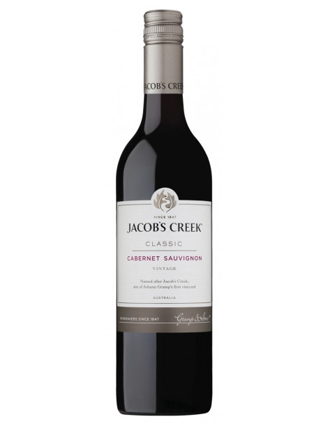 JACOB'S CREEK Classic Cabernet Sauvignon 13,9% 0,75л