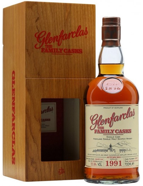 Виски GLENFARCLAS 1991 Family Casks 52.6% 0,7л