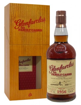 Виски GLENFARCLAS 1956 Family Casks 43.8% 0,7л