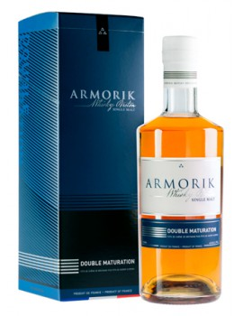 Виски ARMORIK Double Matured 46% OF 0,7л