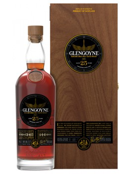 Виски GLENGOYNE 25 years 48% OF 0,7л