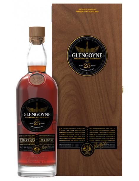 Виски GLENGOYNE 25 years 48% OF 0,7л
