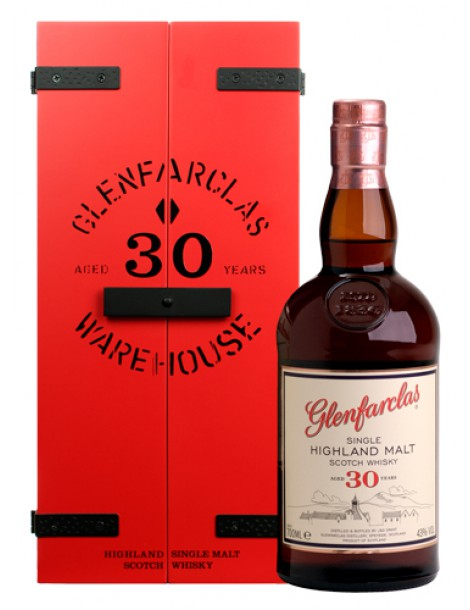 Виски GLENFARCLAS 30 years 43% OF 0,7л дерево