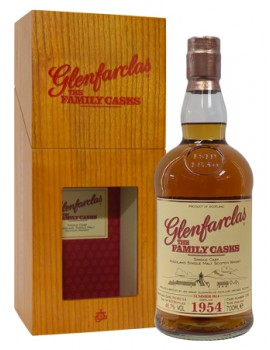 Виски GLENFARCLAS 1954 Family Casks 46,7% OF 0,7л wood