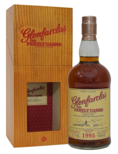 Виски GLENFARCLAS 1995 Family Casks 52,1% 0,7л