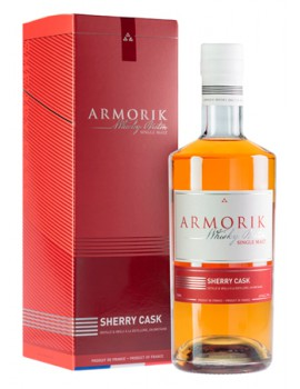 Виски ARMORIK Sherry Cask 46% OF 0,7л