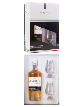 Виски ARMORIK Classic 46% OF 0,7л (Gift Pack with 2 glasses)