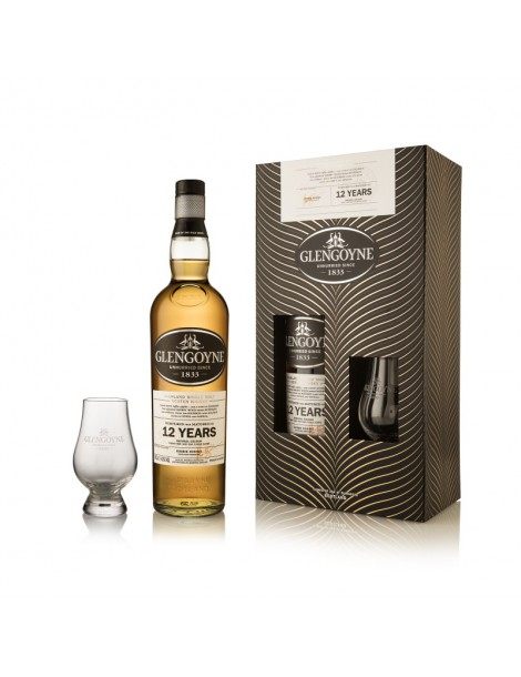 Виски GLENGOYNE 12 years Gift set with 1 glass 43% OF 0,7л